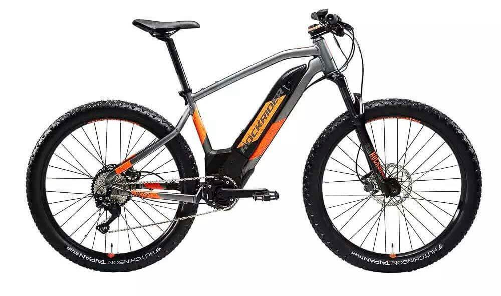 bicicleta electrica de montaña decathlon