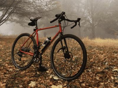 bici gravel bosque