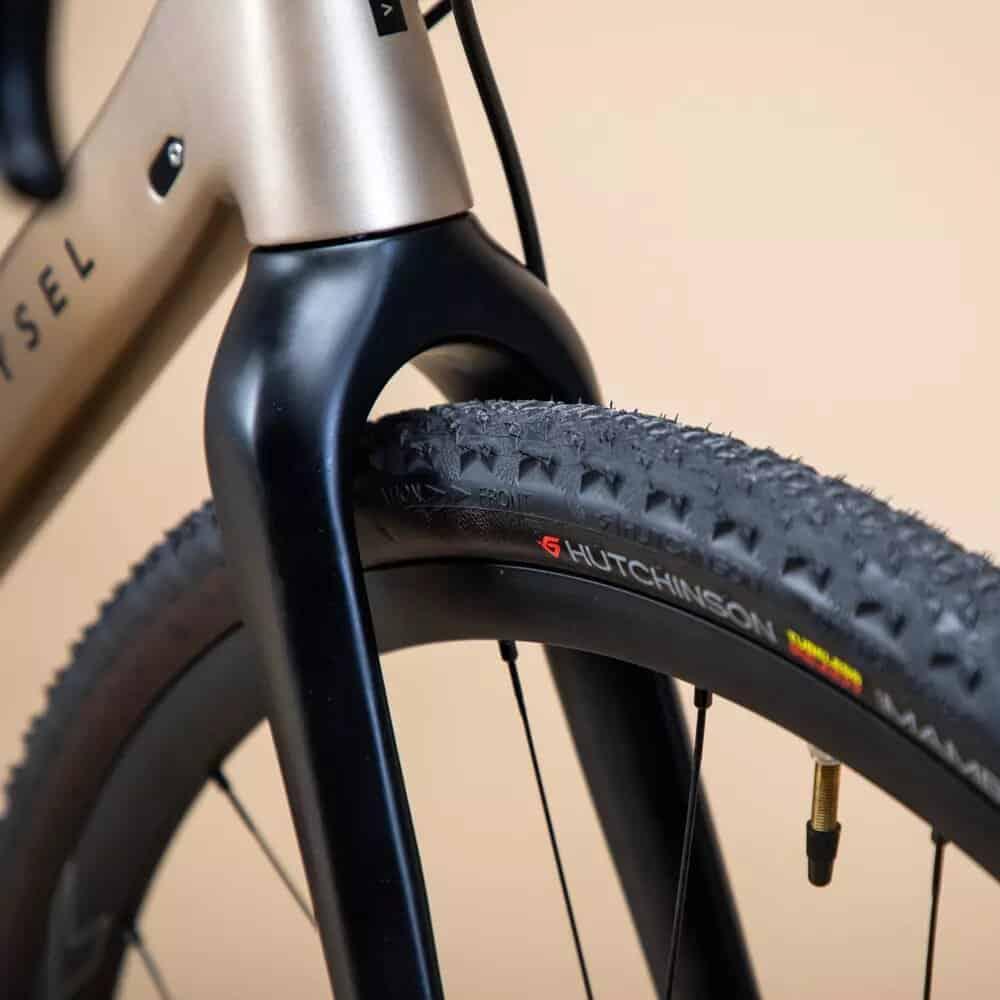 horquilla bicicleta gravel
