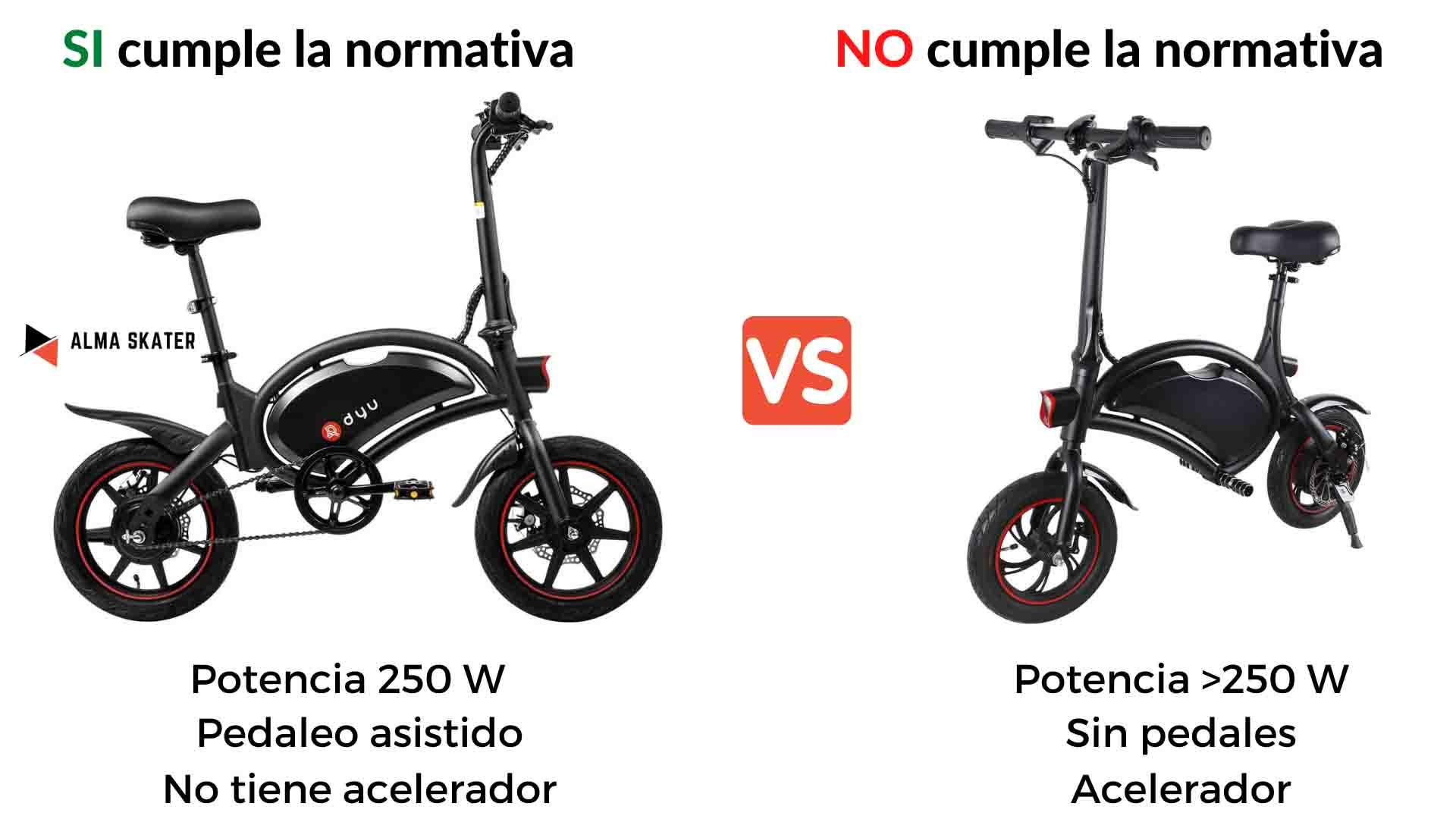 mini bici electrica