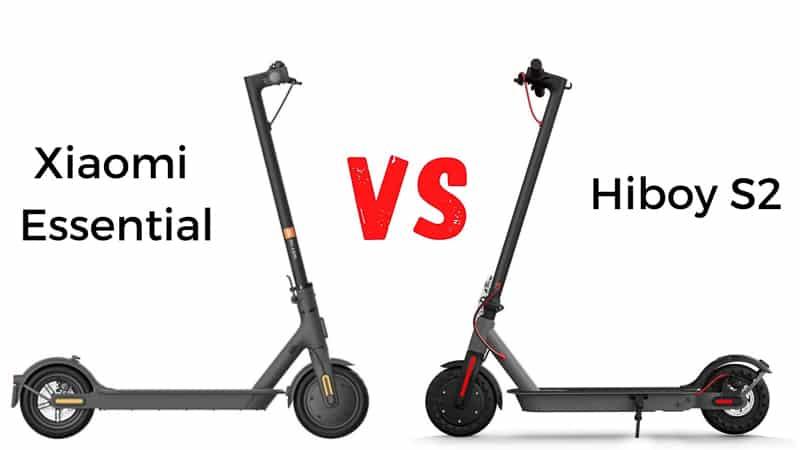 xiaomi essential vs hiboy s2