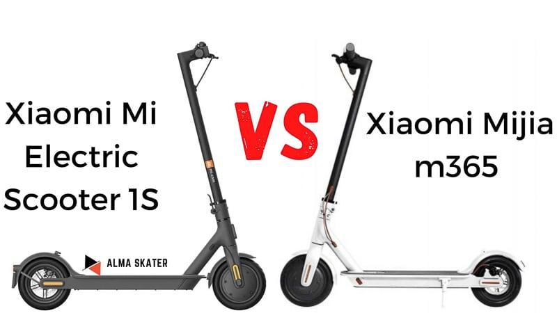 Xiaomi 1S vs Xiaomi Mijia m365