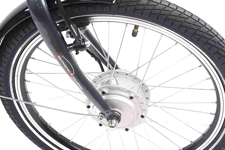 motor bicicleta rueda delantera