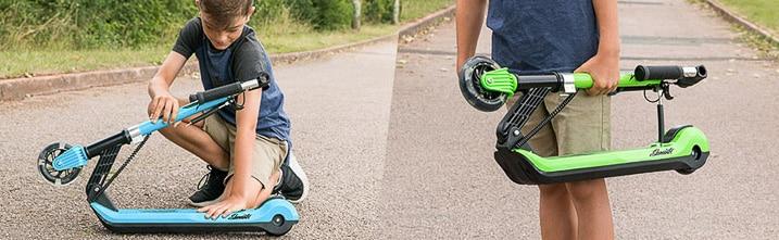 plegar patinete electrico de niño