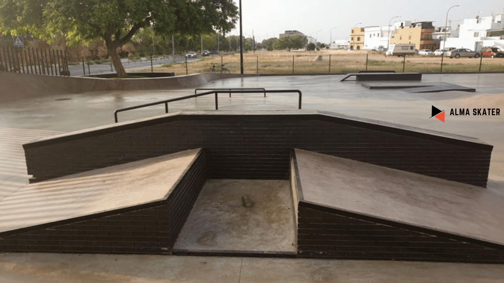 Skatepark Camas en Sevilla