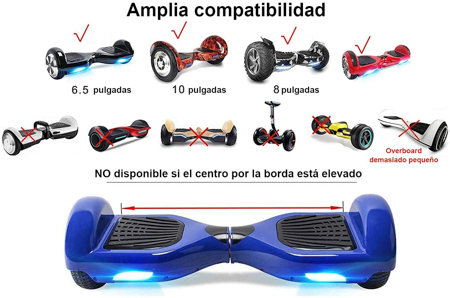 compatibilidad hoverboard
