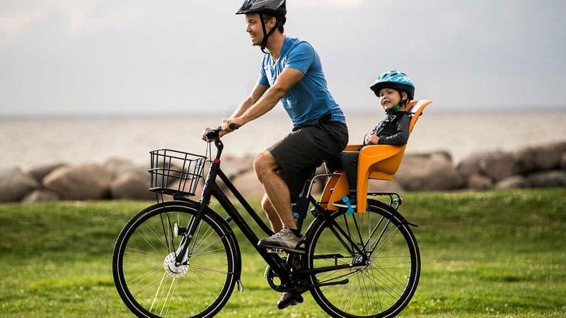 silla niño bicicleta