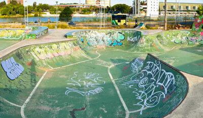 Skate Park Plaza de Armas en Sevilla