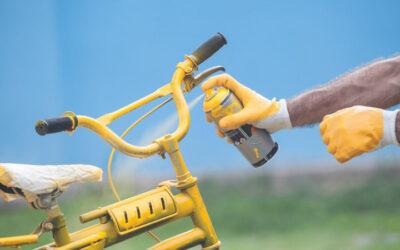 Pintar bicicleta